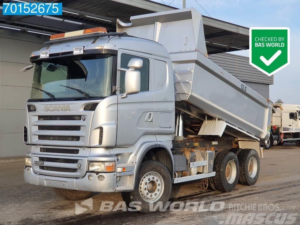 Scania R620 6X4 V8 Retarder Big-Axle11m3 Bodyheating Euro