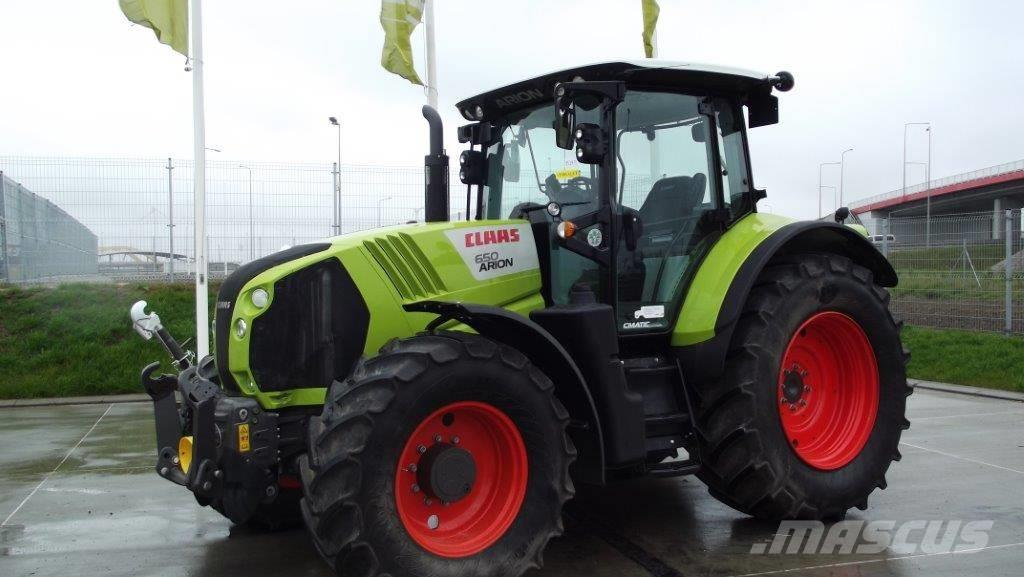 CLAAS ARION 650 3B CMATIC