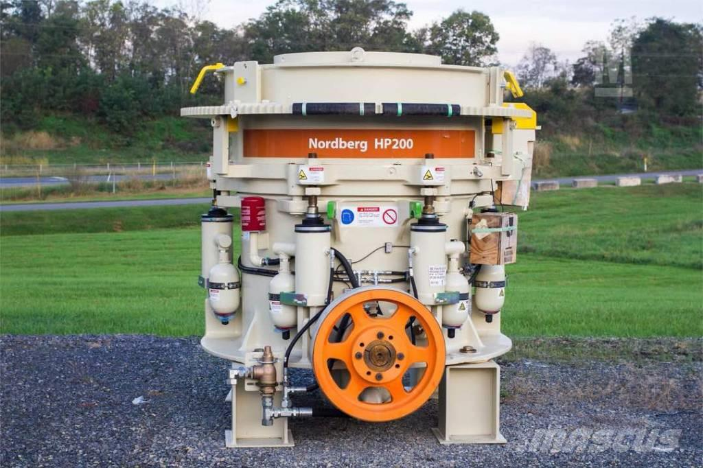 Metso HP-200 CONE CRUSHER, BRAND NEW, READY FOR D