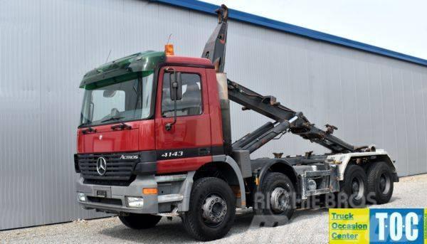 Mercedes benz actros 4143 8x4 ahk preis for Mercedes benz of tysons corner staff