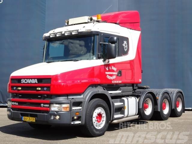 Scania T164.480 8X4 TORPEDO / HAUBER / SPECIAL