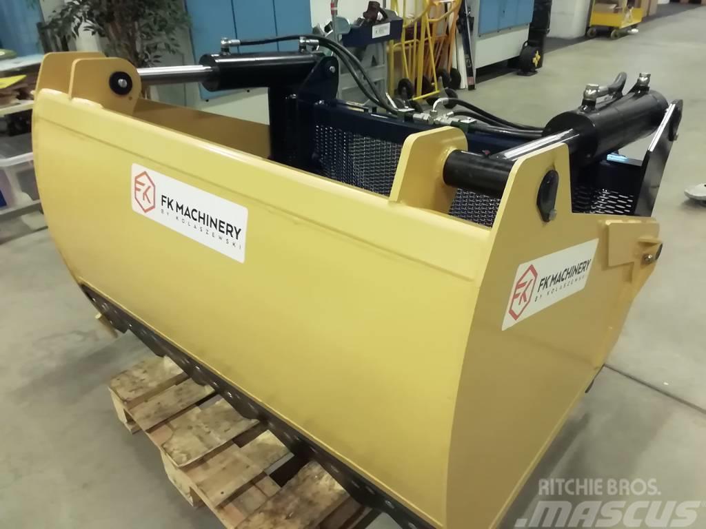 [Other] FK Machinery Rehuleikkuri 150cm 0,87m3 475kg