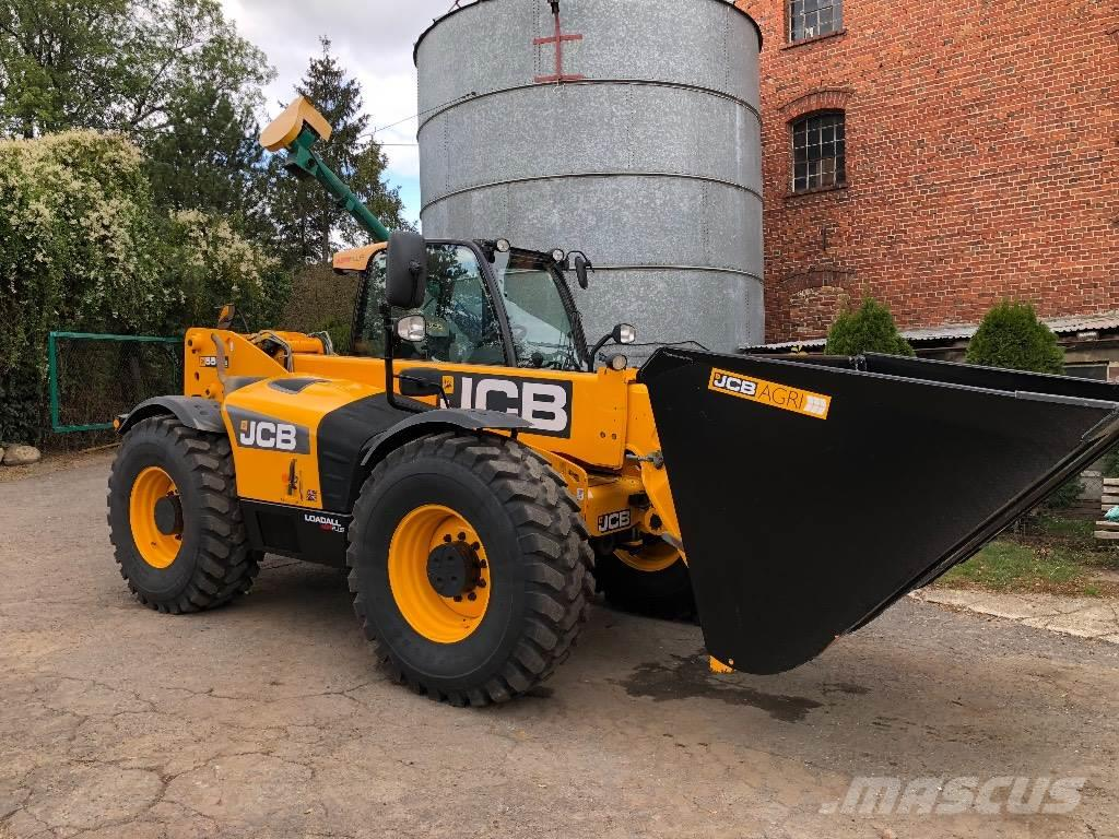 JCB 550-80 AGRI PLUS 2012r 145HP (531,535,536,541,560)