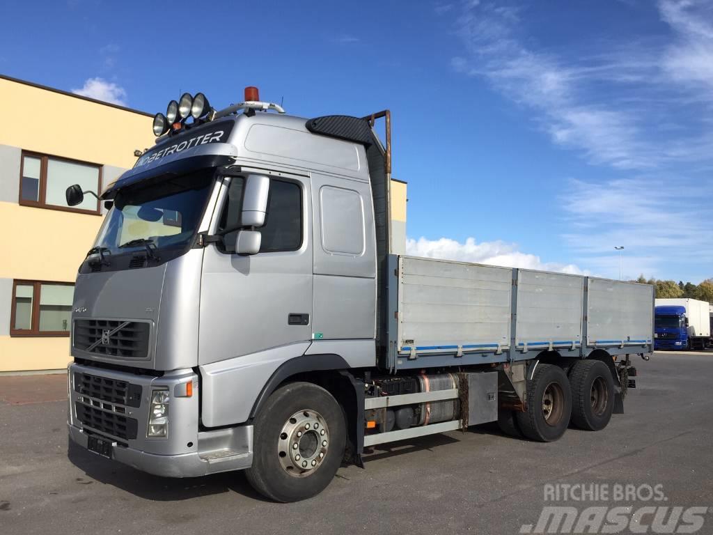 Volvo FH520 6x4+HYDRAULICS+CRANE READY