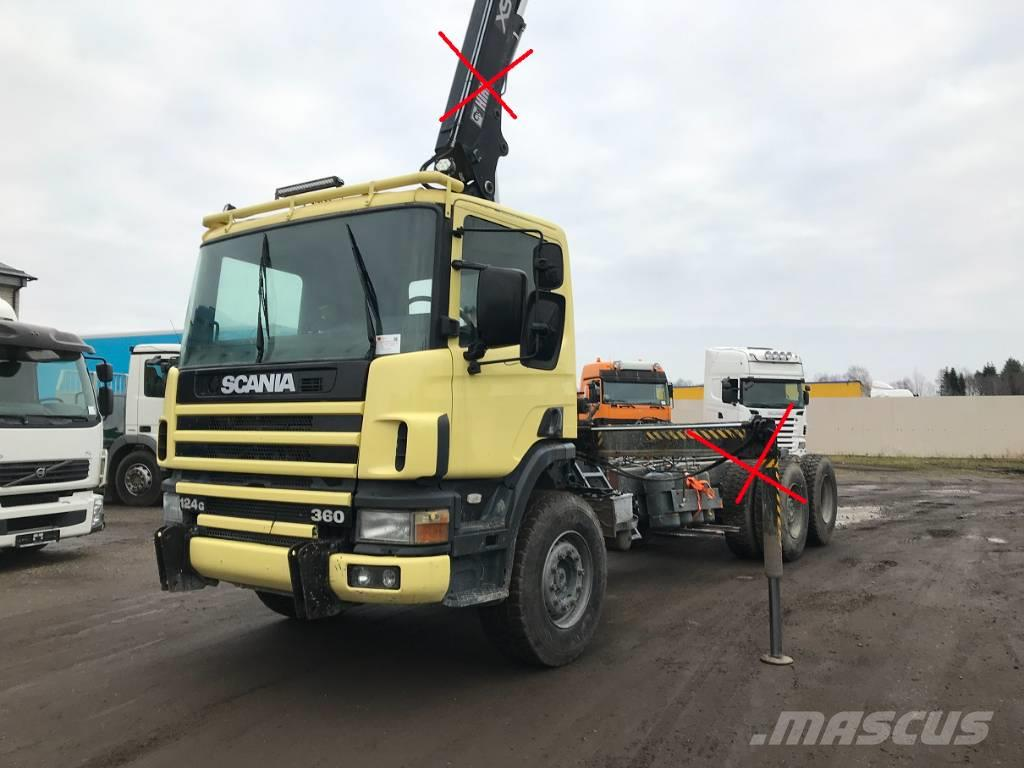 Scania P 124 CB 360 CHASSIS