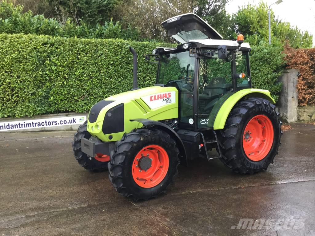 CLAAS Axos 330 CX 4wd tractor