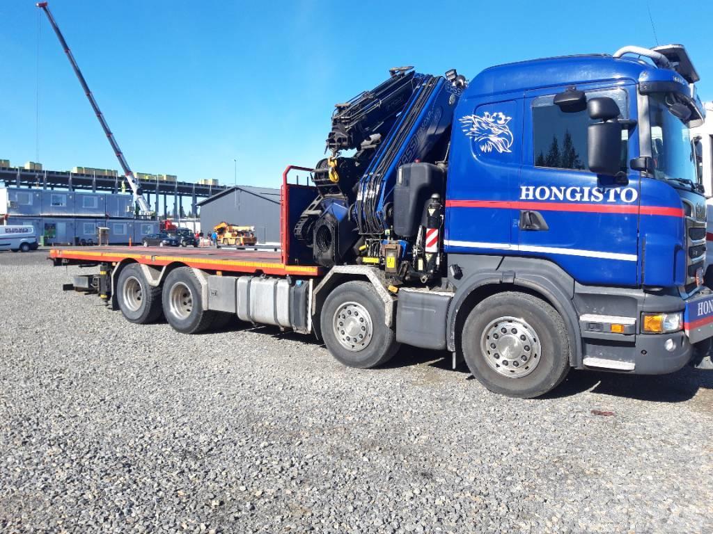 Scania R500 8x4 Fassi 950
