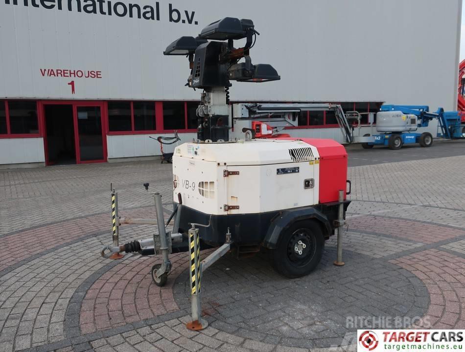 Towerlight VB-9 Tower Light 4x400W Generator 230V