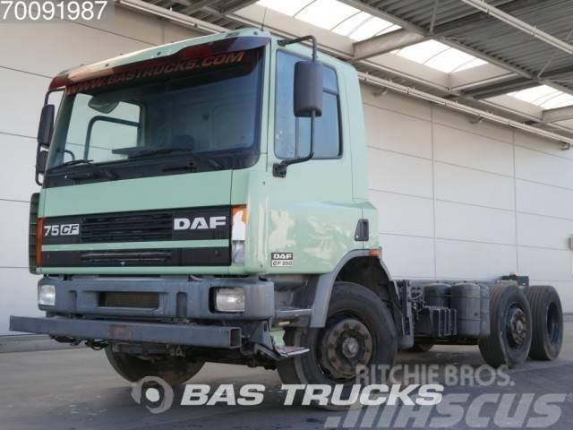 DAF 75CF250 6X2 Manual Lenkachse Euro 2