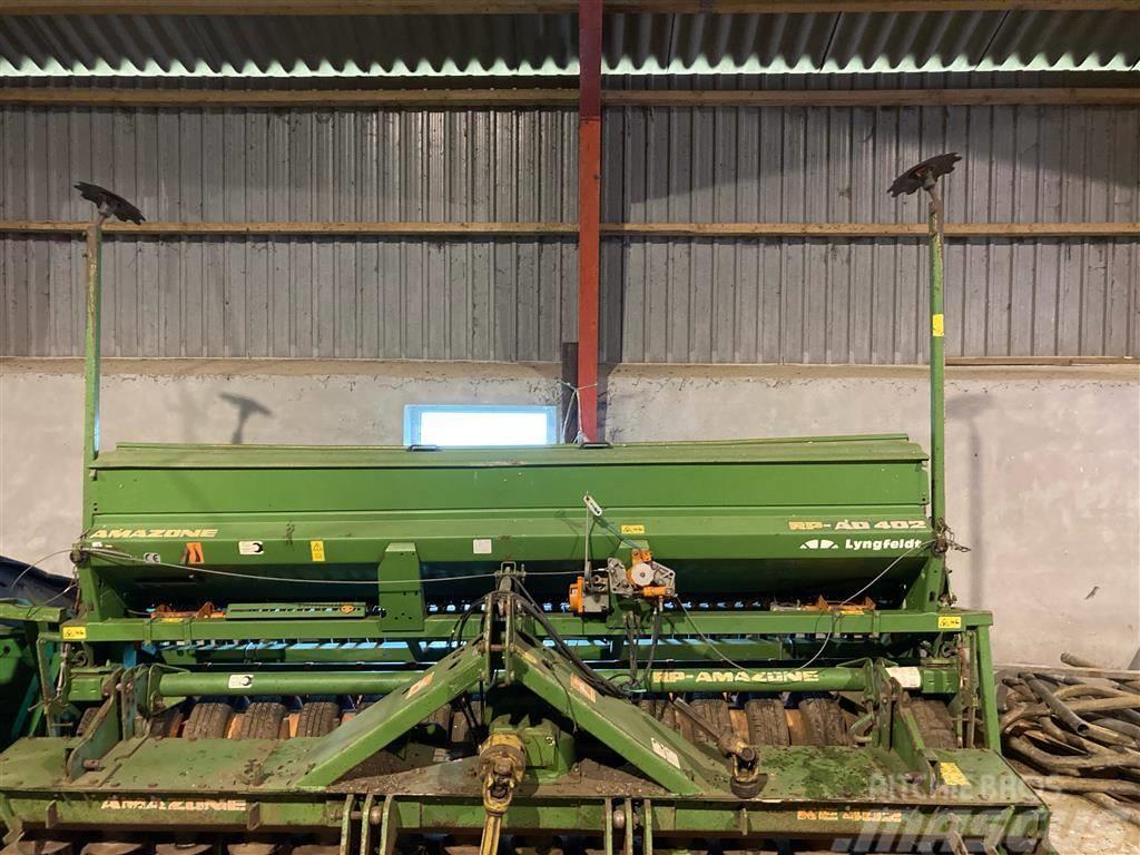 Amazone AD412 med KE402 rotorharve