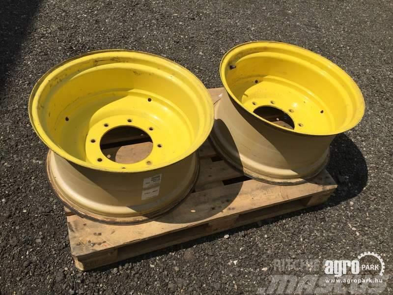 John Deere Rim set 12x24 and 15x38, 1 set, for 4 cylinder Joh