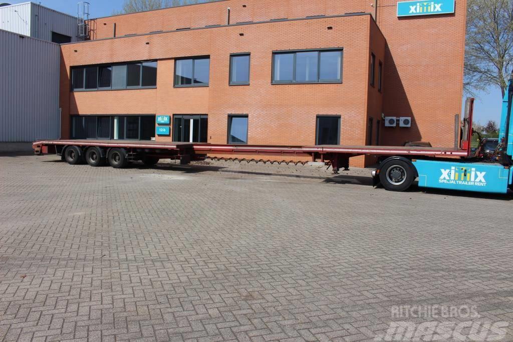 Turbo Hoet Extendable flat MEGA trailer // Friction steering