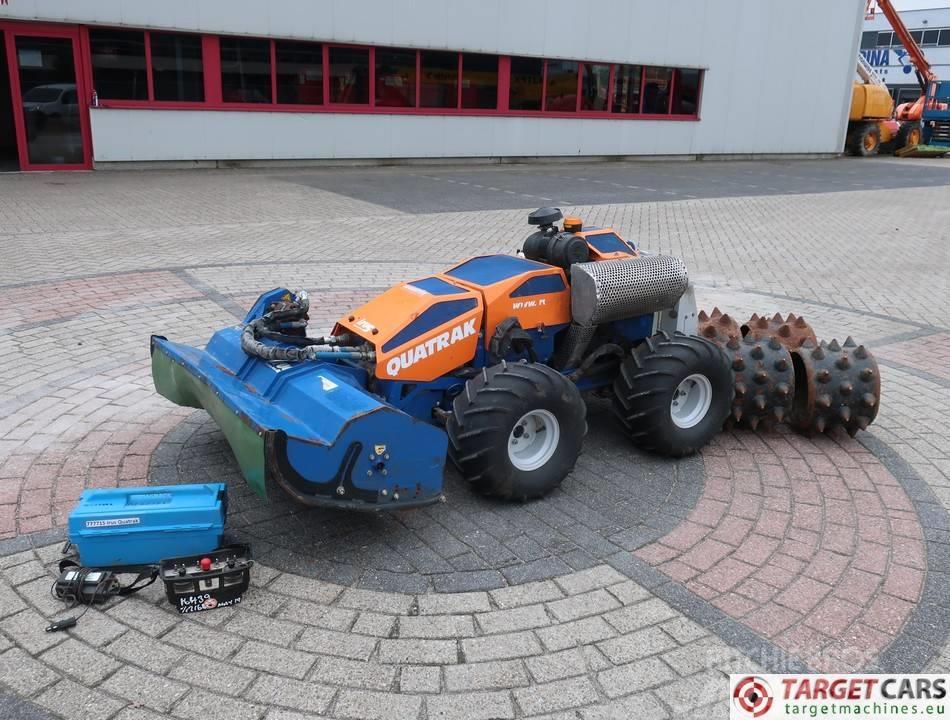 Irus Quatrak Flail 125cm Remote Control Mower 4WD 4WD