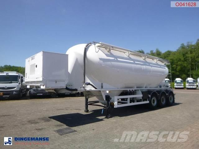 Spitzer Powder tank alu 37 m3 / 1 comp