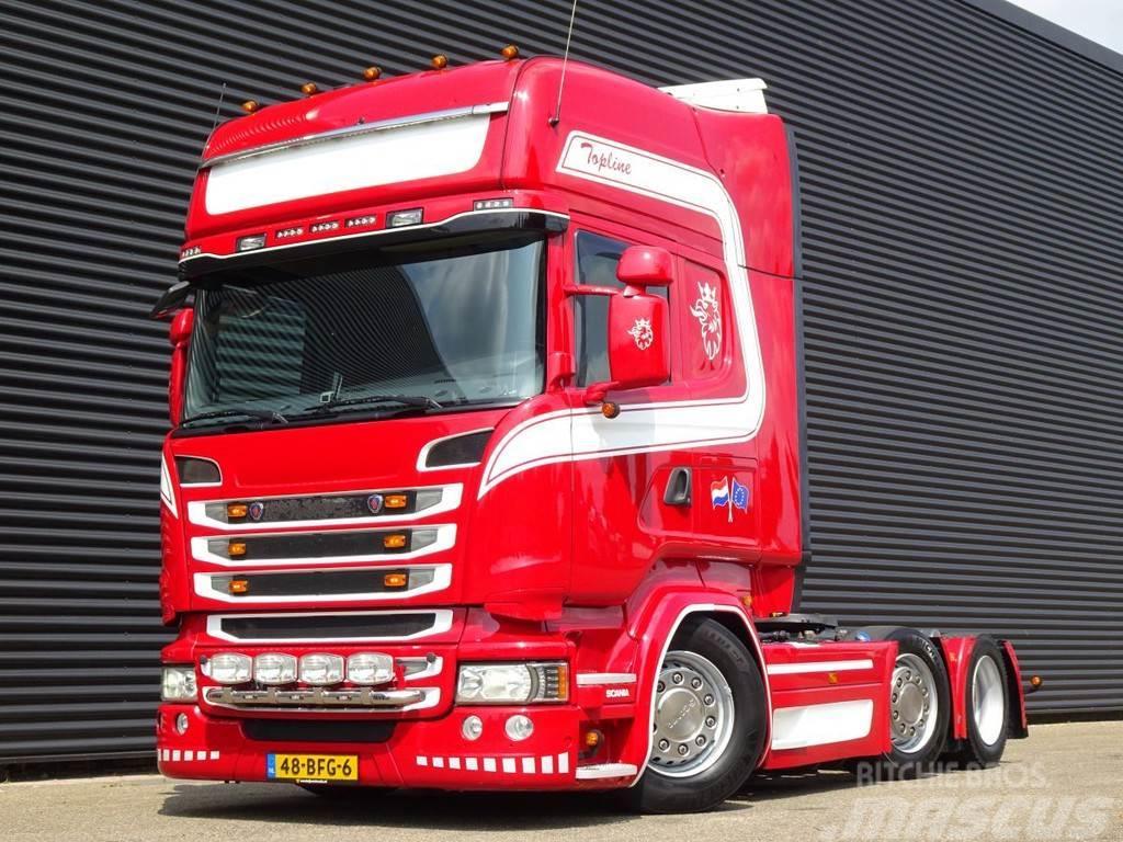 Scania R450 6X2/4 / RETARDER / FULL AIR / MEGA