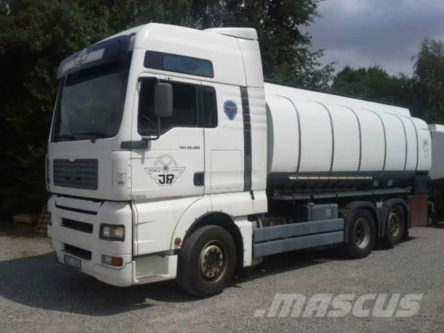 MAN TANK TGA 26.480 16.500Liter Iso Manual