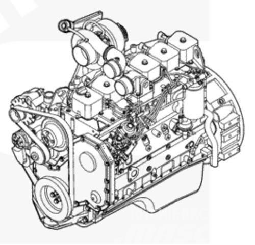 Cummins Machinery Motor 6bt 6BTA 6BTA5.9-C180 Diesel Engin
