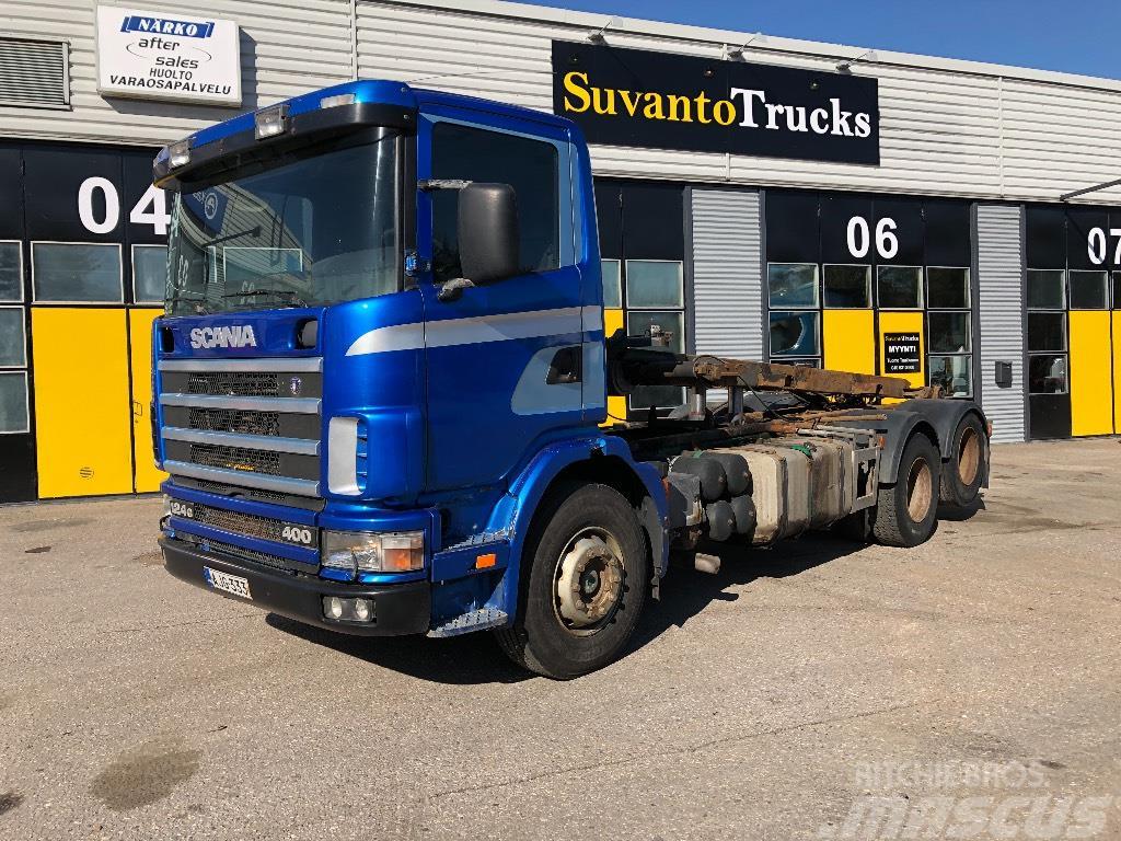 Scania G124 400 6x2