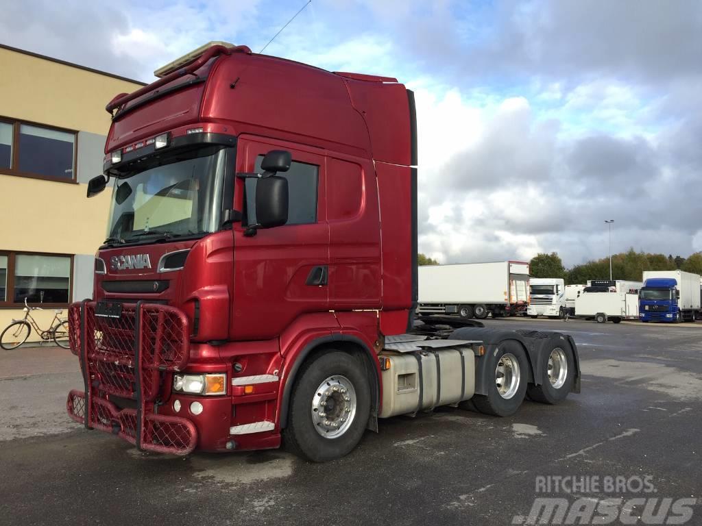 Scania R730 6x4+EURO5+RETARDER