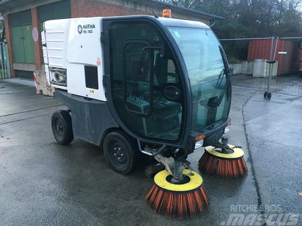 Nilfisk RS 502 Kehrmaschine Sweeper