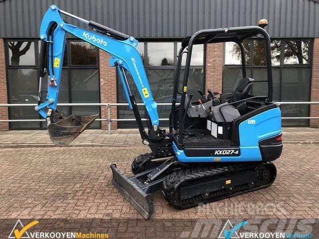 Kubota KX027-4 Hi-Spec Canopy Minigraver Excavator Minipe