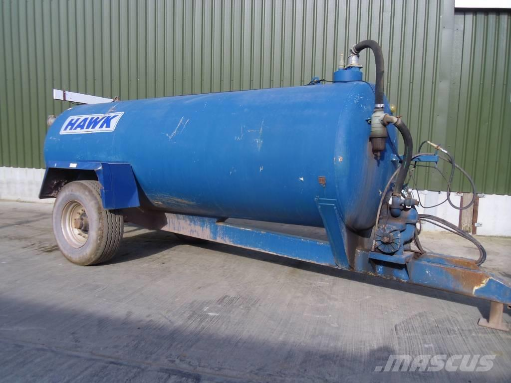 Marston 2000 gallon slurry tanker