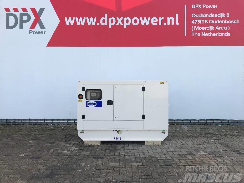 FG Wilson P88-3 - 88 kVA Generator - DPX-16007