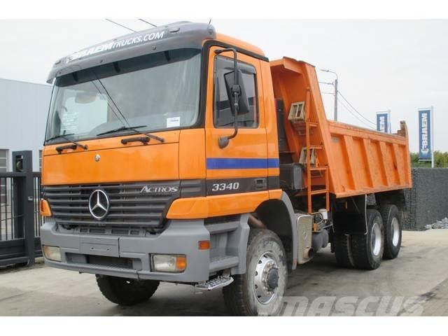Mercedes-Benz ACTROS 3340 AK 6x6 + manual