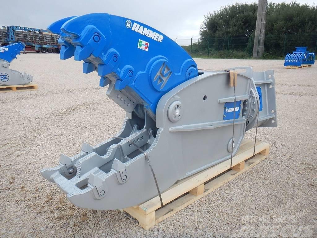 Hammer FR 32 Hydraulic Rotating Pulveriser Crusher 3500KG