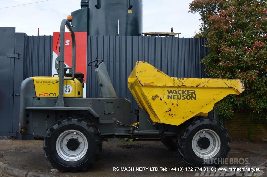 Wacker Neuson 6001 6 TON DUMPER