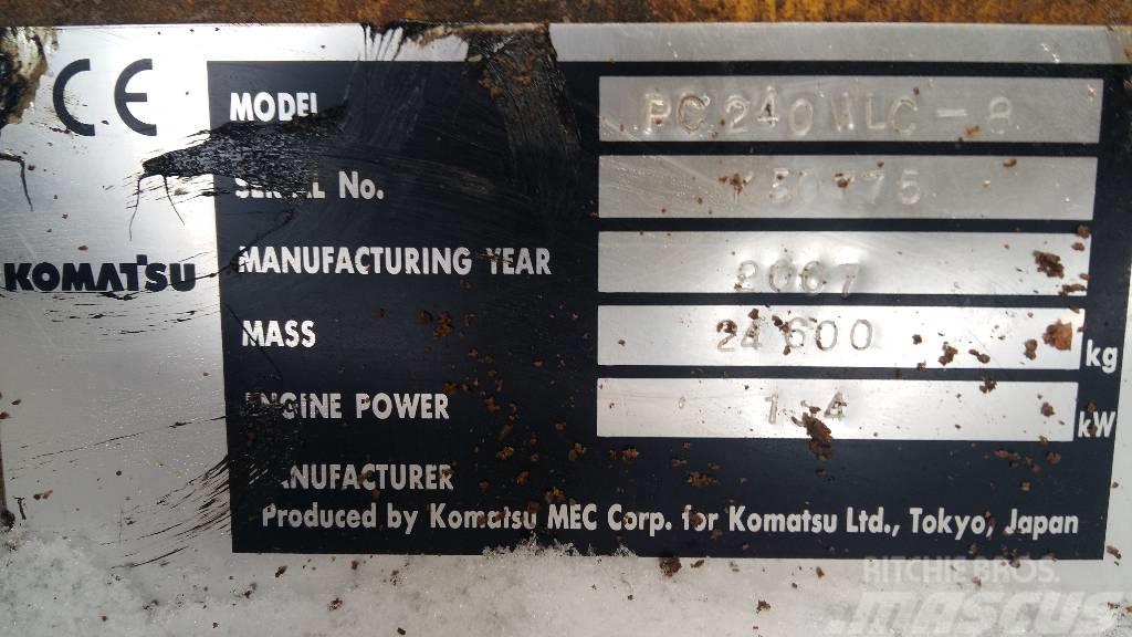 Komatsu PC 240 N LC-8