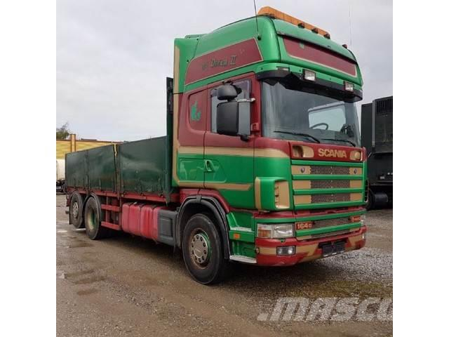 Scania 164-480 V8 6x2 Topline Manual