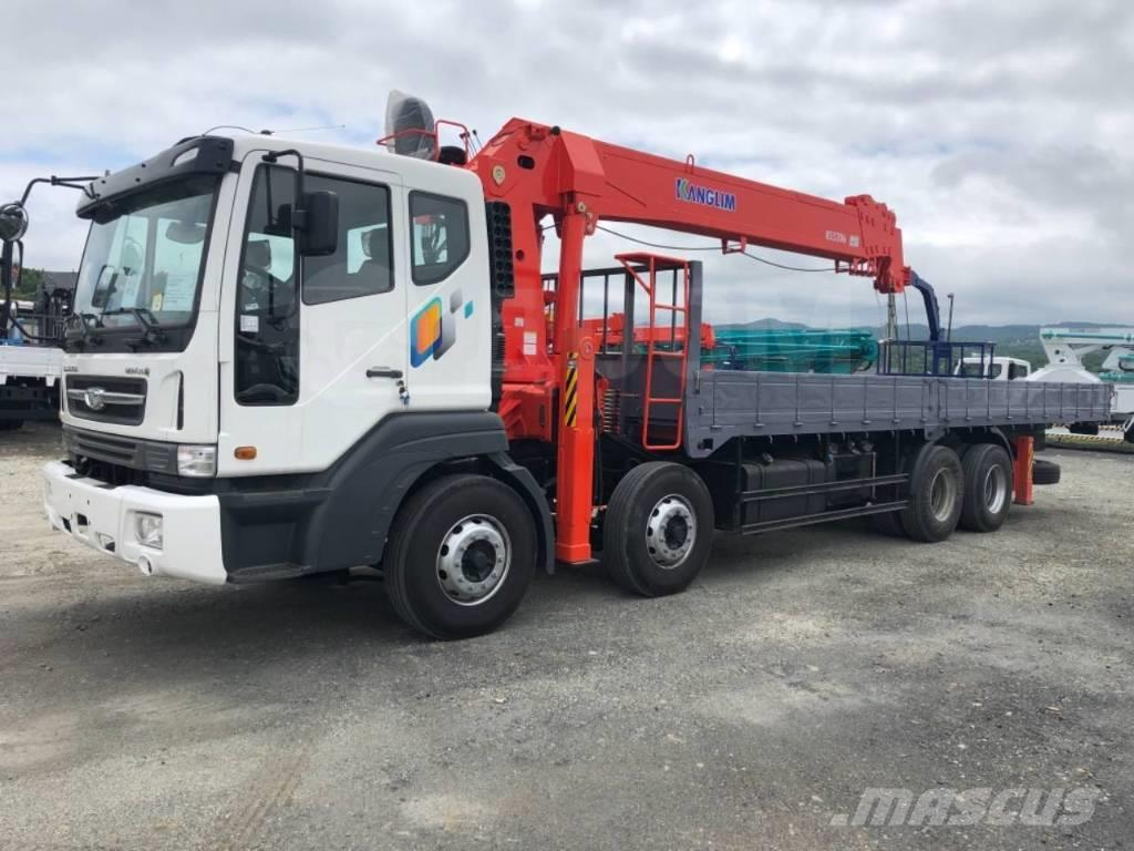 Daewoo Novus 19.5 тонн c КМУ Kanglim  (15т) 5206
