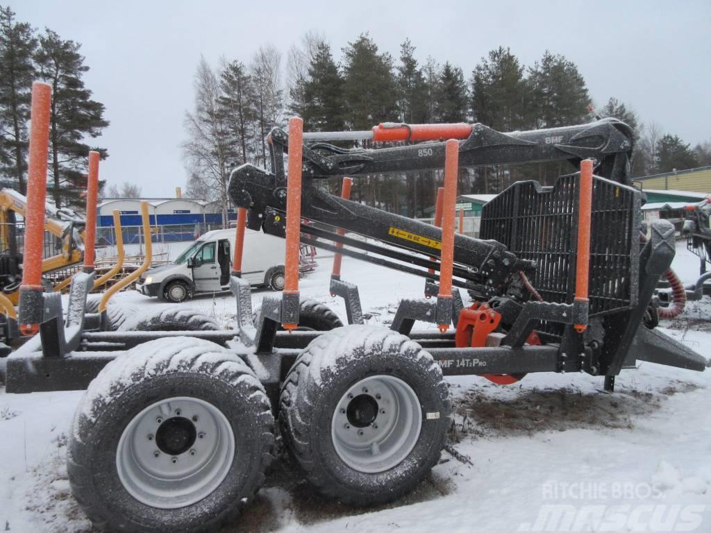 BMF 850 kuormain+14T vaunu