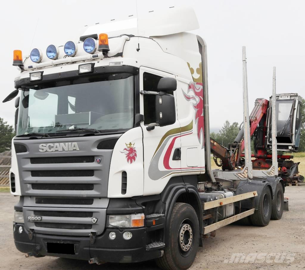 Scania R 500 LB 6X4