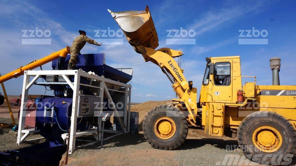 ZZBO Concrete mixing plant MOBIL-20 / бетонный завод