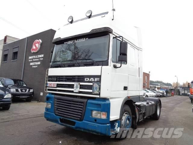 DAF 95 XF 430 superSpacecab manual