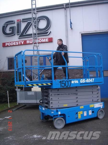Genie GS4047, 2013, Articulated boom lifts