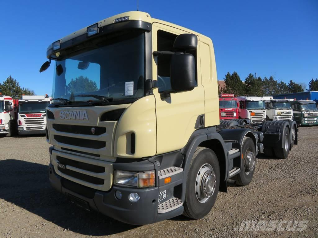 Scania P400 8x2*6 Euro 5 Chassis