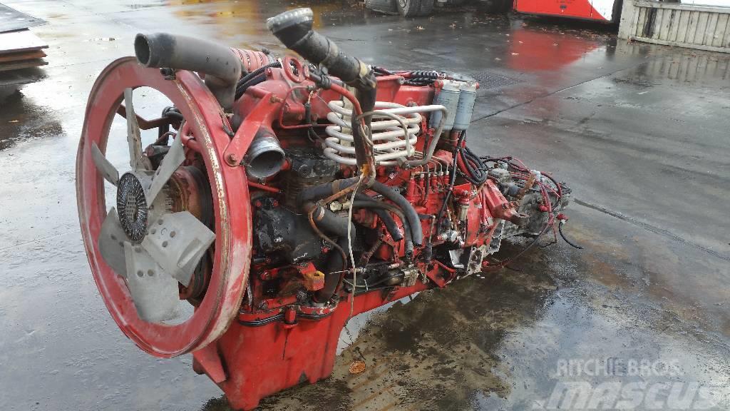MAN D2865, Motorer