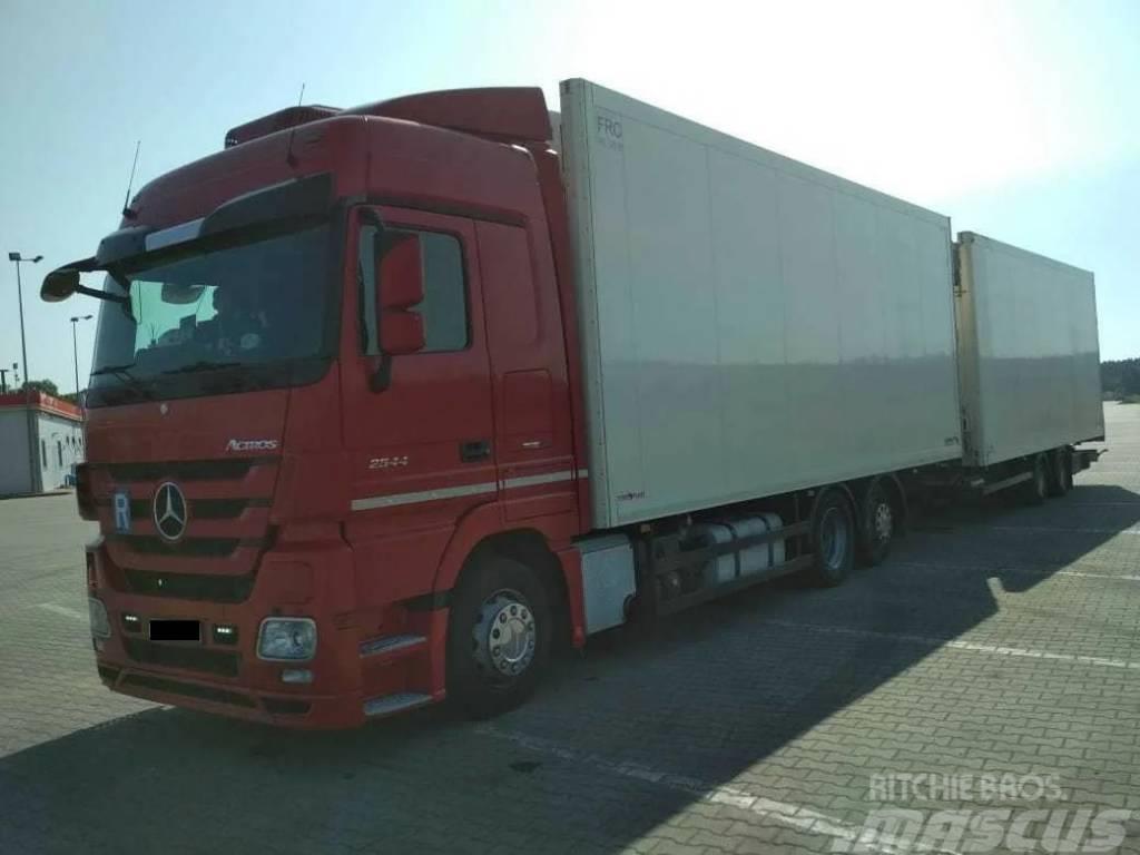 Mercedes-Benz Actros + schmitz