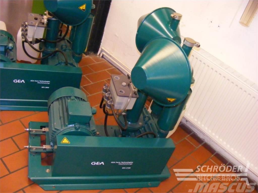 Westfalia Vakuumpumpensatz RPS 2100