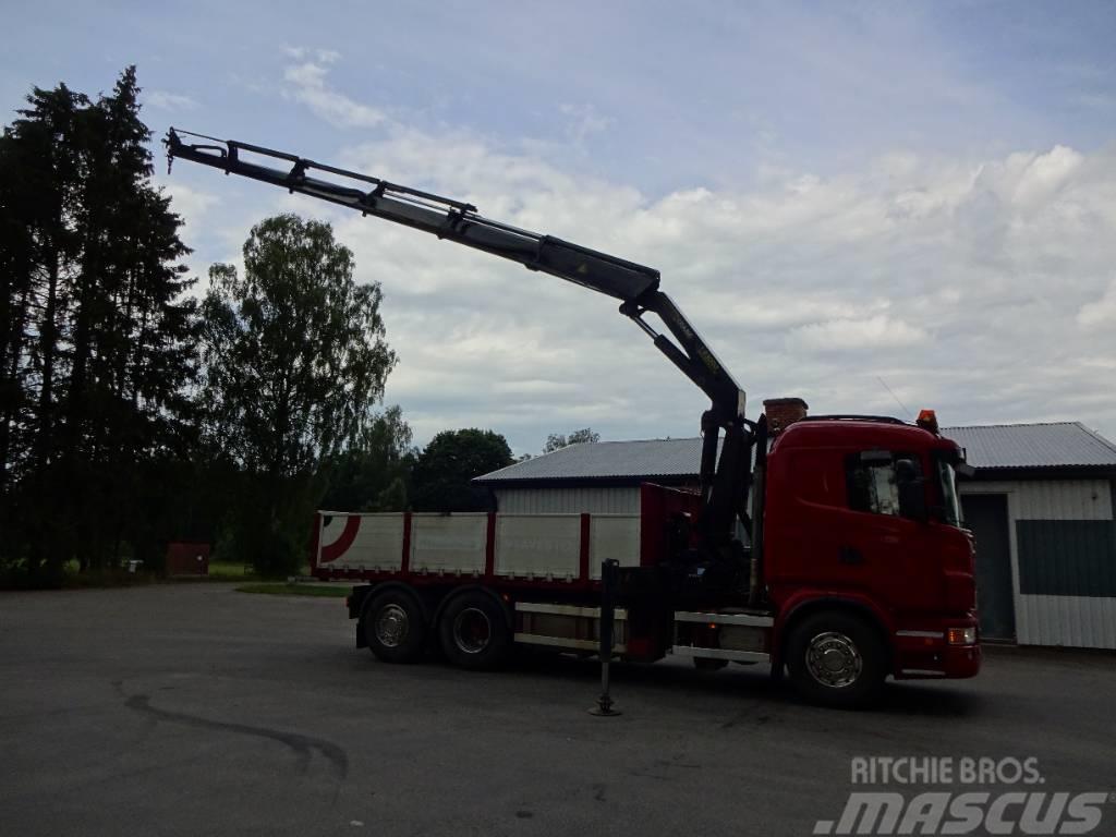 Scania Tipp & kranbil G420lb6x2*4hna