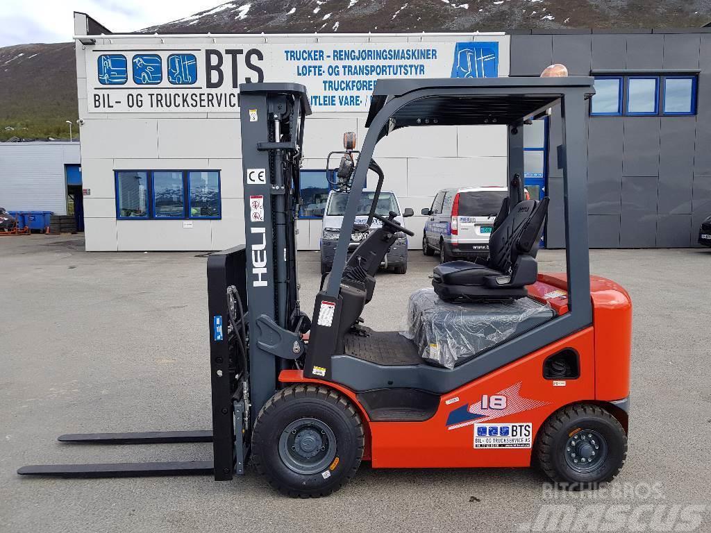 Heli CPCD18 (H3) - 1,75 tonns dieseltruck (på lager)