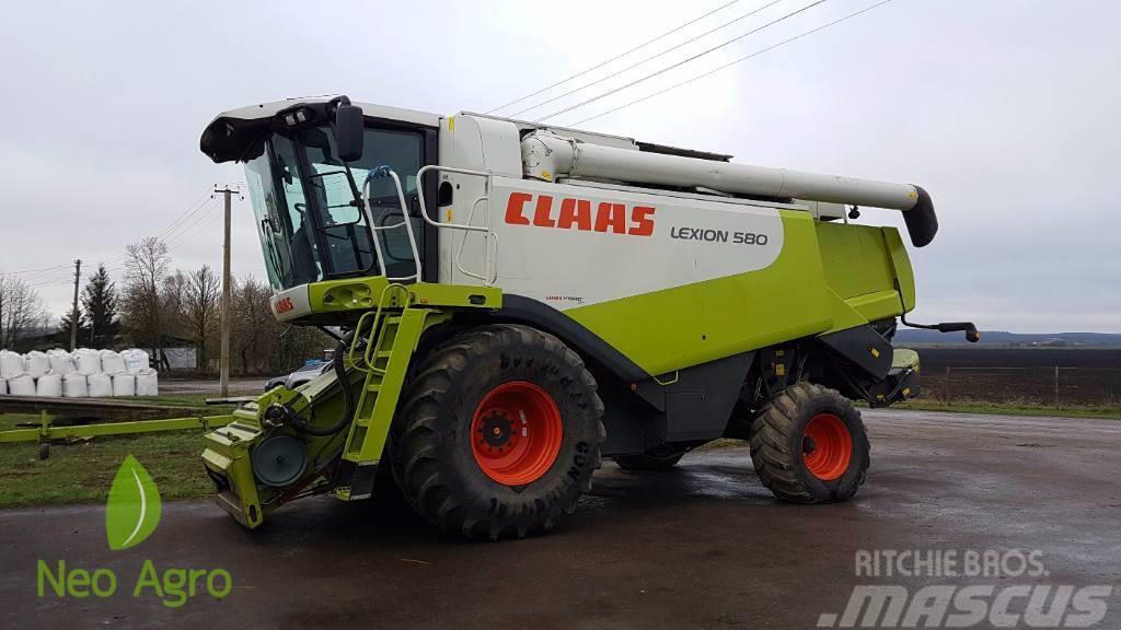 CLAAS Lexion 580 (з Європи)(в наявності)