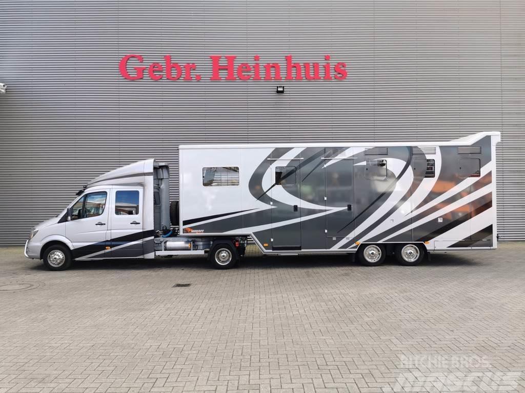 Mercedes-Benz Sprinter 519 CDI + Blomenröhr Niehoff S1200-305 Ho