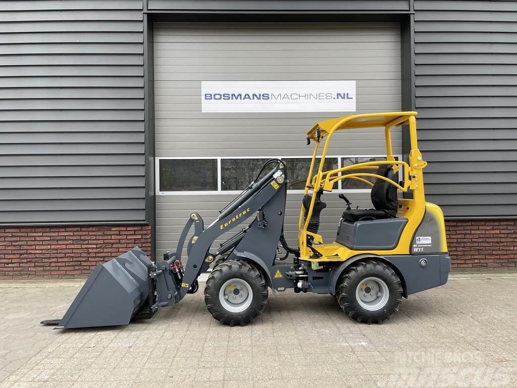 Eurotrac W11 minishovel / kniklader NIEUW €275 LEASE