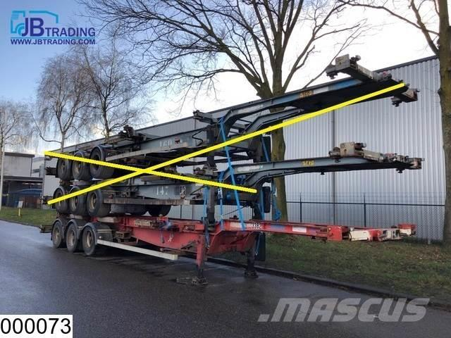 Asca Container 10 / 20 / 30 / 40 FT container chassis