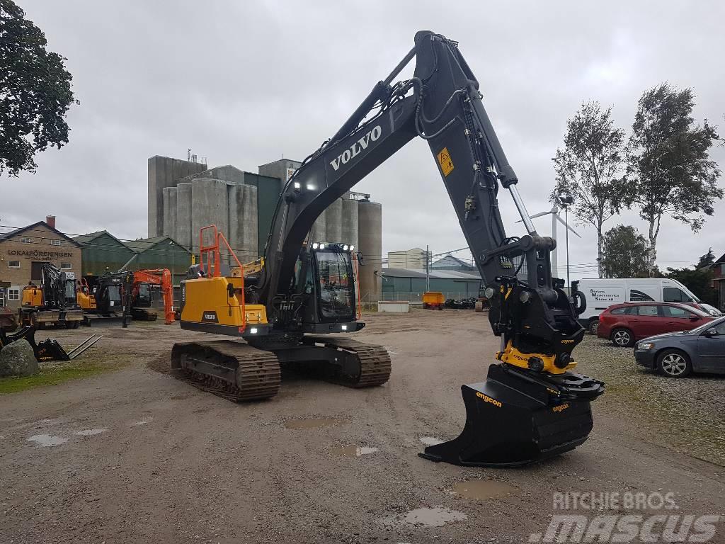 Used Volvo EC 220 E, Uthyres crawler excavators Year: 2017 for sale - Mascus USA