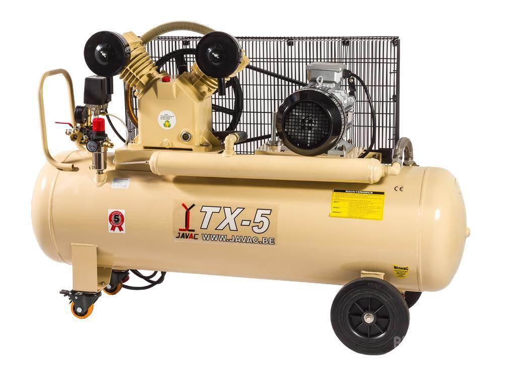 Javac - VX/TX Zuiger compressoren, 10/14 Bar,5j garantie